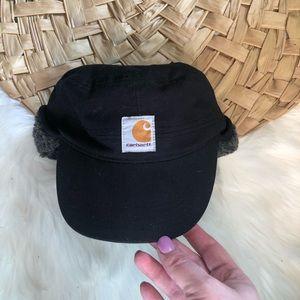 Carhartt hunting cap ear flaps warm winter black